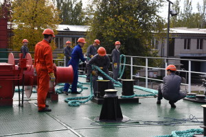 offshore mooring course